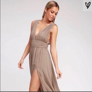 Lulu's heavenly hues maxi dress size XS